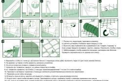 Этапы строительства забора из сетки рабицы