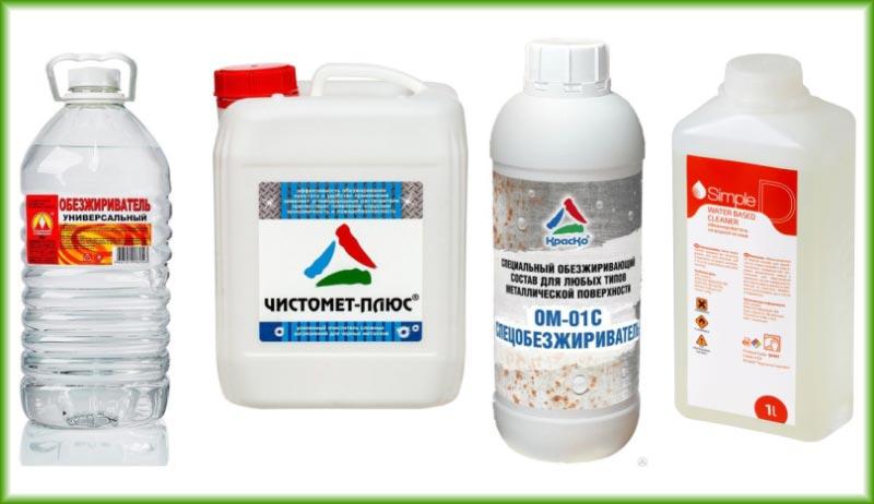 Химические растворители подразделяют на дХимические обезжириватели подразделяют на два основных вида: органические и неорганическиева основных вида: органические и неорганические